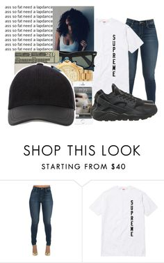 """."" by jay2bomb ❤ liked on Polyvore featuring NIKE"