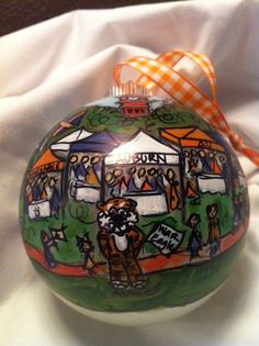 Game Day on the Plains Tailgating Auburn Style by SouthofSouthern, $35.00