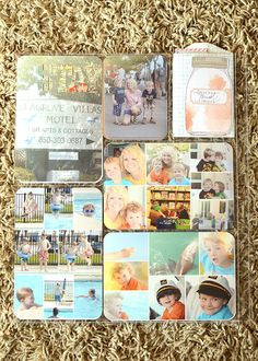 project life vacation insert back. like the photo collage in this. great for the layout i will do for the USS Missouri
