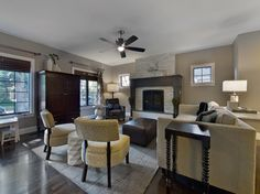 Park Hill Renovation - contemporary - living room - denver - Lowery Design Group