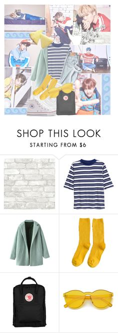 """""""have a good time, ain't gotta worry 'cause it's all right, it's all right"""" by rapgodcminho ❤ liked on Polyvore featuring H&M, Converse and Fjällräven"""
