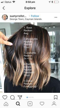 fall hair Hair color ideas for brunettes balayage fun fall ideas for 2019 Balayage Bangs, Hair Color Balayage, Hair Highlights, Ombre Hair, Fall Balayage, Bayalage, Color Highlights, Hair Color Ideas For Brunettes Balayage, Partial Balayage Brunettes