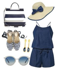 """""""Untitled #155"""" by loril4 on Polyvore featuring Dorothy Perkins, Dolce&Gabbana, Gurhan, WithChic and Oliver Peoples"""