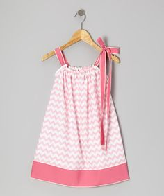 Pink Zigzag Swing Dress - Infant, Toddler & Girls by Cozy Bug