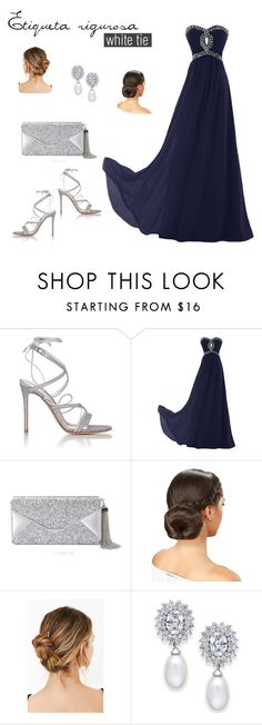 """Etiqueta rigurosa"" by arimacias on Polyvore featuring moda, Gianvito Rossi, BCBGMAXAZRIA, Urban Outfitters, Arabella, womenstyle, Firgun, WomenLook, FirgunCreation y WhiteTieLook"