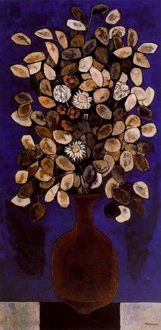 1978 by Oswaldo Guayasamin (1919~1999; Quito, Ecuador)