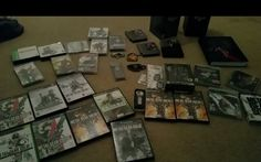 My metal gear collection