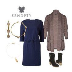 Jurk Jade Deep Blue   SRNDPTY   Dresses Only