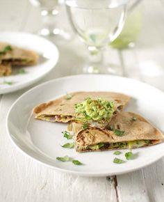 Green quesadillas