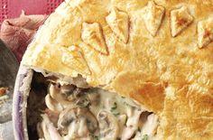 Chicken and mushroom pie recipe – goodtoknow FULL RECIPE HERE Chicken Pie Recipe chicken pie recipe chicken pie recipe easy chicken pot pi. Pie Recipes, Chicken Recipes, Dinner Recipes, Cooking Recipes, Recipies, Chicken Pie Recipe Easy, Curry Recipes, Vegan Recipes, Chicken And Mushroom Pie