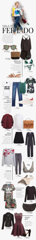 Mala de Feriado | Fashion Blog | OQVestir