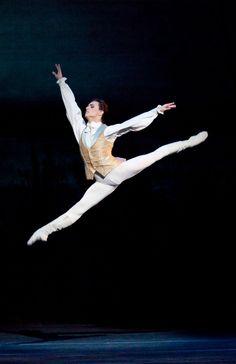 Ukrainian ballet dancer Sergei Polunin in The Sleeping Beauty.
