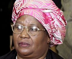 Joyce Banda - First female President in Southern Africa. President of MALAWI