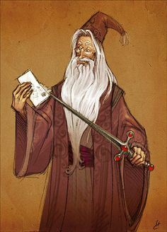 Albus Dumbledore - The sword of Godric Gryffindor has practical uses.