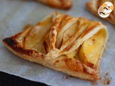 Folhados de maçã rápido, Receita Petitchef