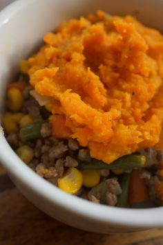 Paleo Shepherd's Pie Risotto, A Food, Paleo, Good Things, Meals, Ethnic Recipes, Meal, Food, Yemek