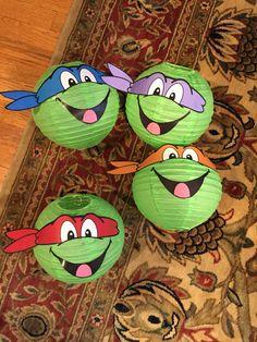Ninja Turtle Lanterns