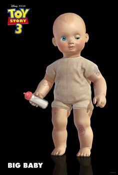 Big Baby - (Toy Story 3) Toy Story 3 Movie, Toy Story 1995, New Toy Story, Toy Story Party, Toy Story Birthday, Woody Birthday, Third Birthday, Birthday Bash, Big Baby Dolls
