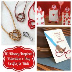 10 Disney-inspired Valentine's Day Crafts for Kids