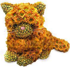 Gallery.ru / Фото #3 - игрушки из живых цветов - semynova