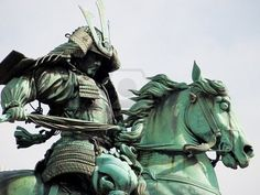 great capture of natural coloring on this statue in Hibiya Park in downtown Tokyo, Japan