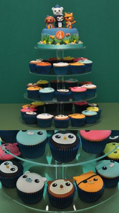 Octonauts birthday. Will try just a few cupcakes first