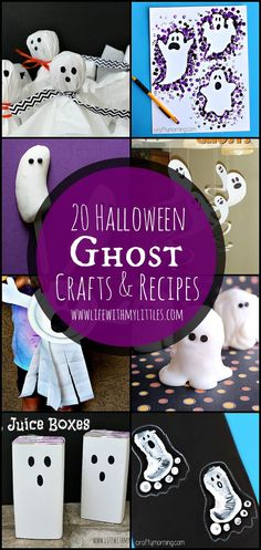 20 ghost crafts and
