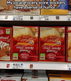 Meanwhile At The Grocery Store