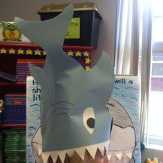 Shark Hat for Ocean theme.