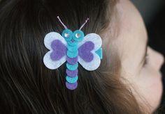 Boutique Dragonfly Hair Clip - Meet Miss Dreesa