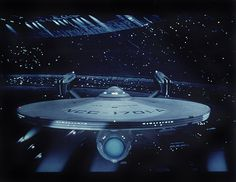 USS Enterprise NCC-1701-A.  Also one of my favorite movie scenes!