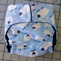 DIY cloth diaper tutorial