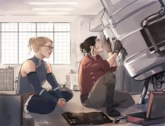 SuperCorp as Korra and asami