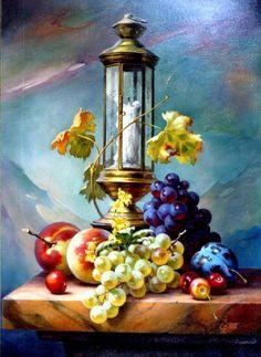 Still Life Photos, Still Life Art, Still Life Oil Painting, Fruit Painting, Arte Floral, Fruit Art, Art Pictures, Oil Painting Pictures, Pictures To Paint