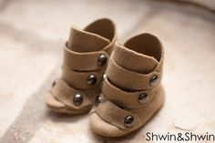 Baby Riding Boots || Free Pattern