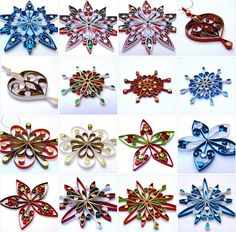 Christmas ornaments by Victoria Brewer - Pure Designs
