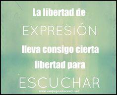 Libertad de expresión - http://empezardecero.net/mediateca/libertad-expresion/