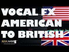 Audio plugin that changes American voices to sound British.