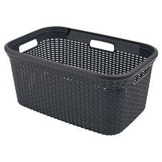 Plastic Laundry Basket, Organization, Garage, House Ideas, Objects, Home Decor, Products, Getting Organized, Carport Garage