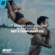 """""""Fit, Strong And Healthy Is A Lifestyle, Not A Temporary Fix."""" #Fitness #FitFam #Workout #Lifestyle #Strength You Fitness, Physical Fitness, Fitness Models, Fitness Motivation, Health Fitness, Back Fat Workout, Mental Health Disorders, Muscle Training, Inspirational Quotes For Women"""
