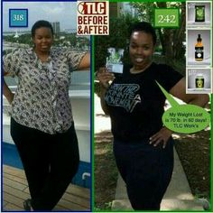 In 60 days she lost  70 lbs using TLC HCG, NRG AND IASO DETOX TEA.  THIS CAN BE YOU! YOU GET THESE AMAZING PRODUCTS @slimandhealthytea.com  Rep#3410111