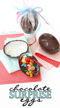 Does you child love those Kinder Surprise Egg videos? Find out how you can make your own chocolate surprise eggs for Easter or anytime!