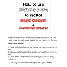 How to banish #dark circles under the eyes and #eye #bags #nochemicles #diy #chemicalfree #natural #beauty