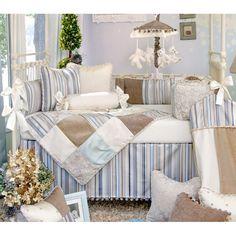 Glenna Jean Preston 4 Piece Crib Bedding Set