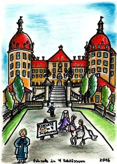 """Und ganz bekannt ... """"Einsatz in 4 Schlössern"""" ....... Zeichnungen aus dem zweiten Kinderbuch von Michael Klüter """"Der Kleine Ritter und das Abenteuer geht weiter"""", welches demnächst bei Amazon erscheinen wird."""