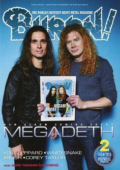 HeadbangerVoice: Megadeth: Dave Mustaine e o garoto Kiko na capa da...