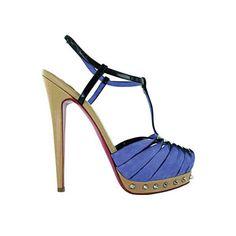 sandalia con pulsera y tachas
