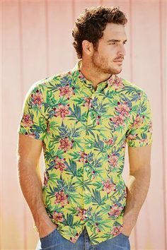Men's floral shirt...bang on trend for the summer