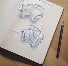 Product design (Camera) sketches from Marius Kindler @mxrxvs | Get inspired! #designinspiration #sketching #create  #camera #sketch #sketches #sketchbook #pencilsketch #digitalsketch #photoshop #productdesign #industrialdesign #presentation #sketchwork #linework #illustration #IDdesign #idsketching #rendering #cameras #designer #designstudent #designlovers #designdaily #letsdesigndaily @letsdesigndaily
