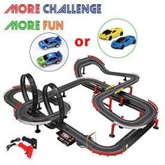 Enjoy car racing. Two controller for two cars. Adjustable speed per your need. Assembly needed Small parts, not for children under 3 years old. Product Features Much Fun with Friends or Family Members – 559inch Longer Track is Perfect for 2 Players. TWO 1:43 scale electric RC slot racing cars & TWO remote controller are […]